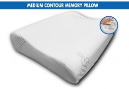 Comfortlux MEDIUM CONTOUR MEMORY PILLOW