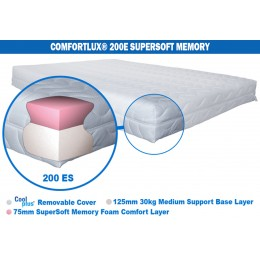 Comfortlux Economy Super Soft Memory 200 Mattress