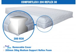 Comfortlux 200 Foam Mattress (30kg medium density Reflex foam)