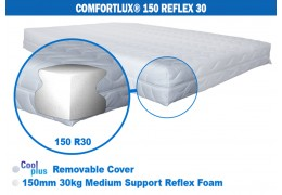 Comfortlux 150 Foam Mattress (30kg medium density reflex foam)