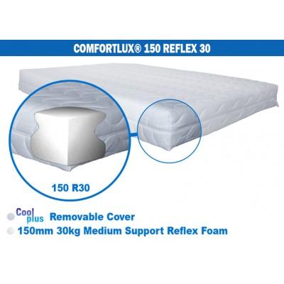 Comfortlux 150 Foam Mattress (30kg medium density reflex foam)