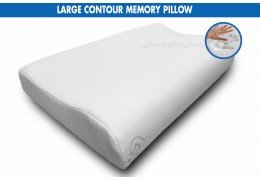 Comfortlux LARGE CONTOUR MEMORY PILLOW